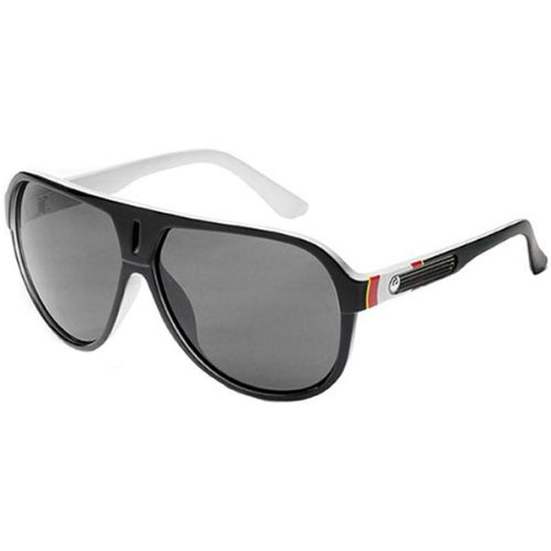 Dragon Alliance Experience Men's Large Fit Racewear Sunglasses - Color: Momentum Bullseye/Grey, Size: One Size Fits All