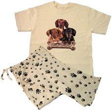 Dachshund Pajamas Women S Clothing