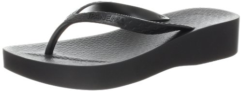 Ipanema Women's Tropical Thong Sandal,Black/Black,10 M US