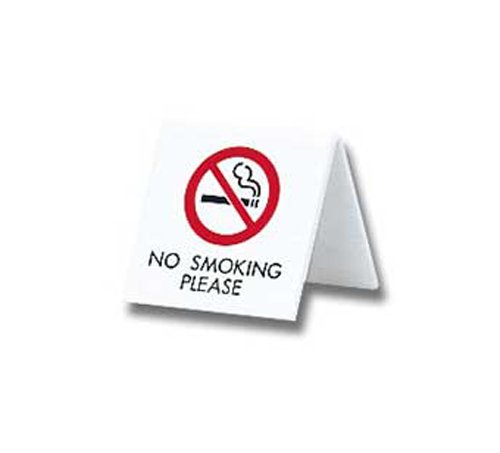 光 プレート NO SMOKING PLEASE UP662-4