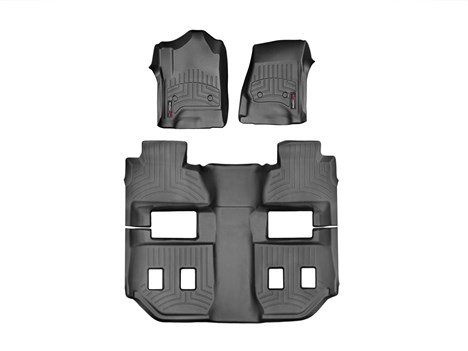 440031 WeatherTech Custom Fit Front FloorLiner for Select Cadillac//GMC//Chevrolet Models Black