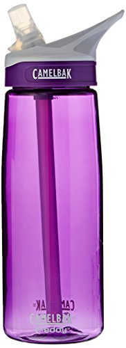 CamelBak Eddy Water Bottle, Acai, .75-Liter (Water Bottles Straw compare prices)