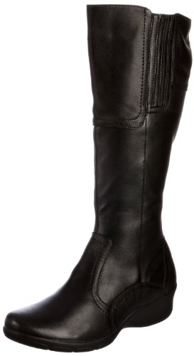 Padders Women's Jules Black Side Zip Boots 583 6 UK