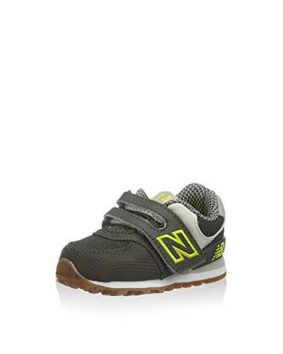 New Balance Zapatillas Marrón / Verde Oscuro / Amarillo