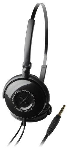 audio-technica ポータブルステレオヘッドホン ATH-FW3 BK