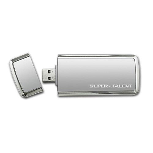 Super Talent Technology ST3U56SCS unidad flash USB - Memoria USB (256 GB, USB 3.0, 234,2 MB/s, Tapa, Plata, 0 - 70 °C)