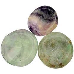 Fluorite Thumb Stone / Worry Stone / Palm Stone