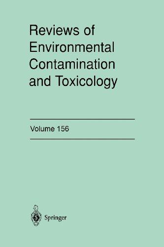 Reviews of Environmental Contamination and Toxicology: Continuation of Residue Reviews