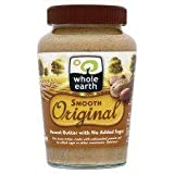 Whole Earth Smooth Original Peanut Butter 454G