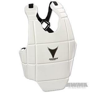ProForce Lightning Bodyguard Chest Gear - White - Large (Boxing Rib Protector compare prices)