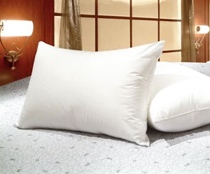 Best Prices! Queen Size White Goose Feather and Goose Down Pillows - Set of 2
