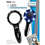 Vivitar Viv-mag-2 Set Of 2 Magnifying...