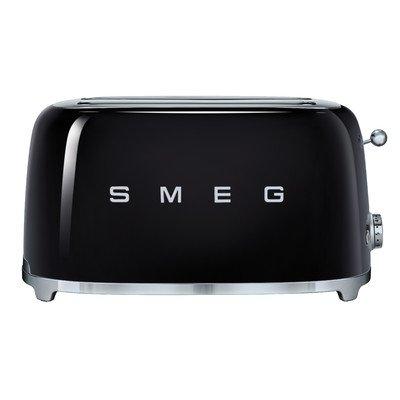Smeg 4-Slice Toaster-Black (4 Slice Toaster Color compare prices)