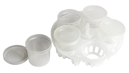 Instant Pot Yogurt Cups and Pressure Sterilization Rack