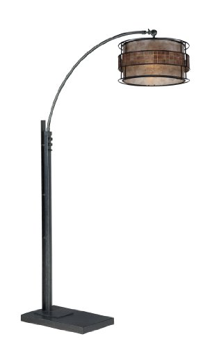 Best Quoizel QA Mica Light Arc Floor Lamp