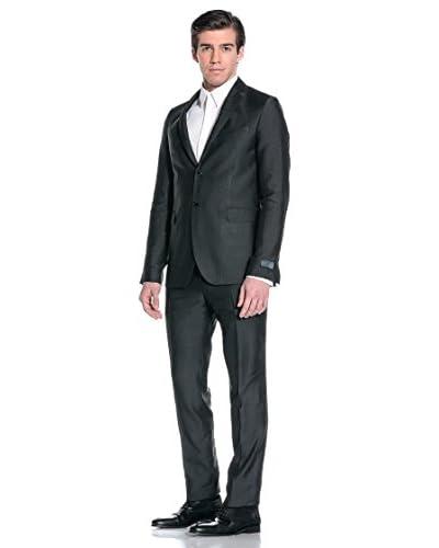 Costume National Abito da Uomo [Nero/Grigio]