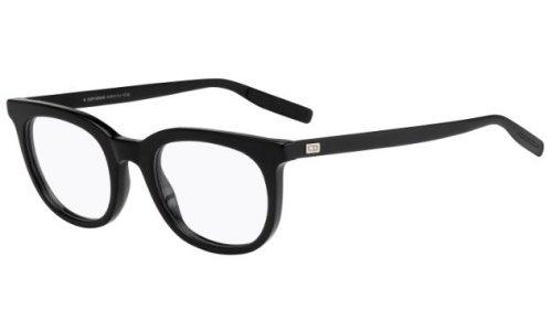 dior-homme-gafas-para-muneco-blacktie217-263-semi-matte-black-estructura-de-plastico-y-metal
