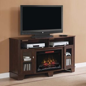 Classicflame Lasalle Infrared Electric Fireplace Media Console In Midnight Cherry - 26Mm4995-Nc72