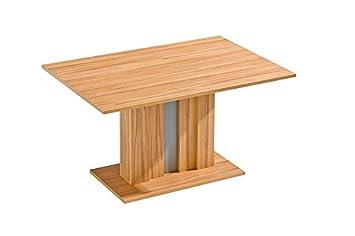 Esstisch 138x90 cm Holzfaserplatte, Farbe: Hellbraun