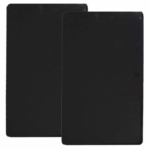 Reston Lloyd Rectangular Stove Burner Covers, Set Of 2, Black