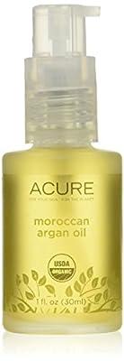 Acure Organics - Organic Argan Facial Oil for Dry, Sensitive Skin - 1 oz