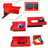 4-Piece Magnetic Tool & Parts Tray Set