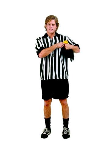 Referee Adult Costume Size Standard