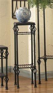Bago Luma Medium Messina Iron Pedestal Table WTPM41