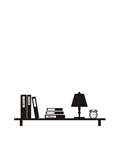 LO + demoda Muursticker Uw Shelf