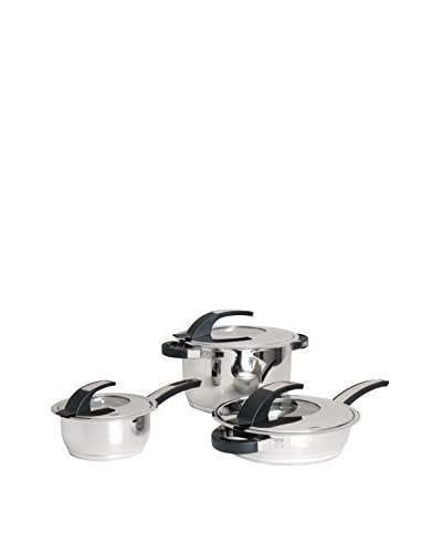 BergHOFF Virgo 6-Piece Stainless Steel Cookware Set