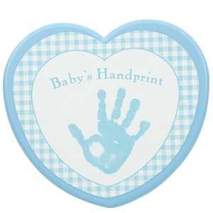 Baby's First Handprint Kit for Boys/Keepsake
