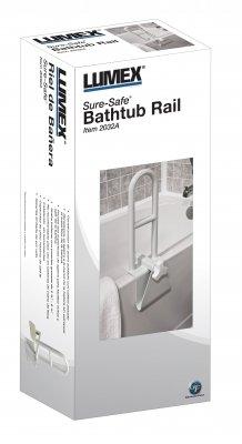 BATHROOM SAFETY - Sure-Safe® Bathtub Safey Rail #2032A