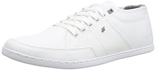 Boxfresh SPARKO ICN RIP NYL WHT/GRIF GRY, Herren Sneakers, Weiß (WHITE/GRIFFIN GREY), 42 EU thumbnail