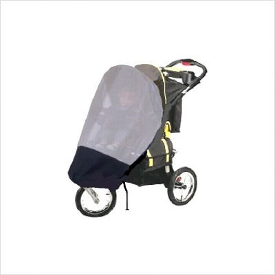 GoGoBabyZ Single Jogging Stroller Sun, Wind and Insect Stroller Cover - Stroller Not Included