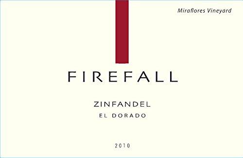 2010 Firefall El Dorado County Miraflores Vineyard Zinfandel 750 Ml