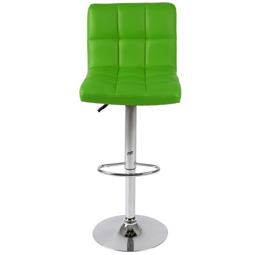 Miadomodo LBHK01 Bar Stools, 2pc Set DIFFERENT COLOURS (green)