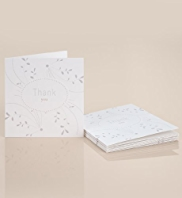 6 Wedding Day Thank You Cards