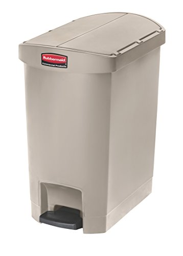 rubbermaid-slim-jim-1883457-30-litre-end-step-step-on-resin-wastebasket-beige