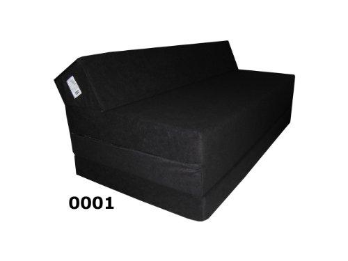 Sessel-Gstebett-Schlafsessel-Klappmatratze-Sofa-Schlafsofa-Doppelbett-Matratze-Schwarz-0001