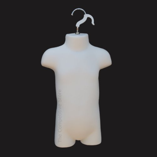 Infant Mannequin Form For Sizes 9 - 12 Months White