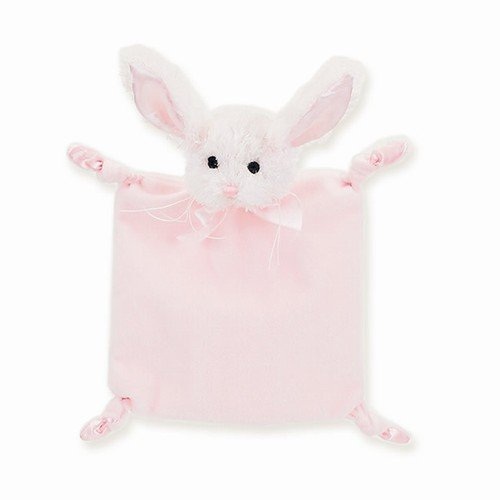 1 X Baby's Pink Bunny Blankie - Bearington Wee Cottontail