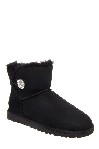 UGG Australia Mini Bailey Button Bling Boot