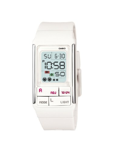 Casio Ladies LDF-52-7AEF Digital Watch With Poptone Resin Strap