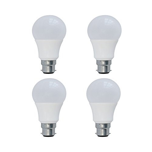 Power Saving 3 Watt LED Bulb (White, Pack of 4)