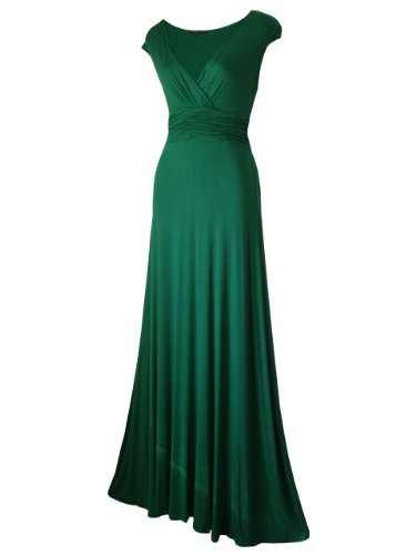 Look For The Stars Women'S Long Maxi Dress Green 8