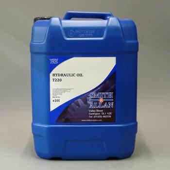 Smith & Allan Hydraulic Oil T220 : Size - 20lt