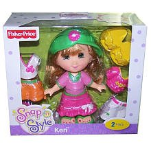 Fisher-Price Snap 'n Style Doll - Keri ( Colors May Vary )
