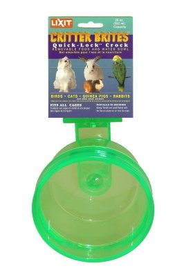 Lixit Animal Care Products - Quick Lock Crock 20 Oz front-118018