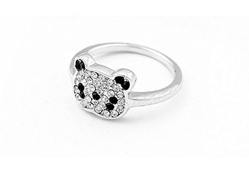 Panda Full Diamond Ring