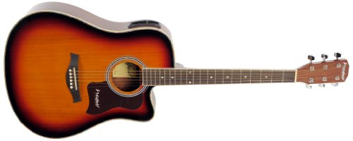 Westfield B220CEQ Electro-Acoustic Guitar - Sunburst